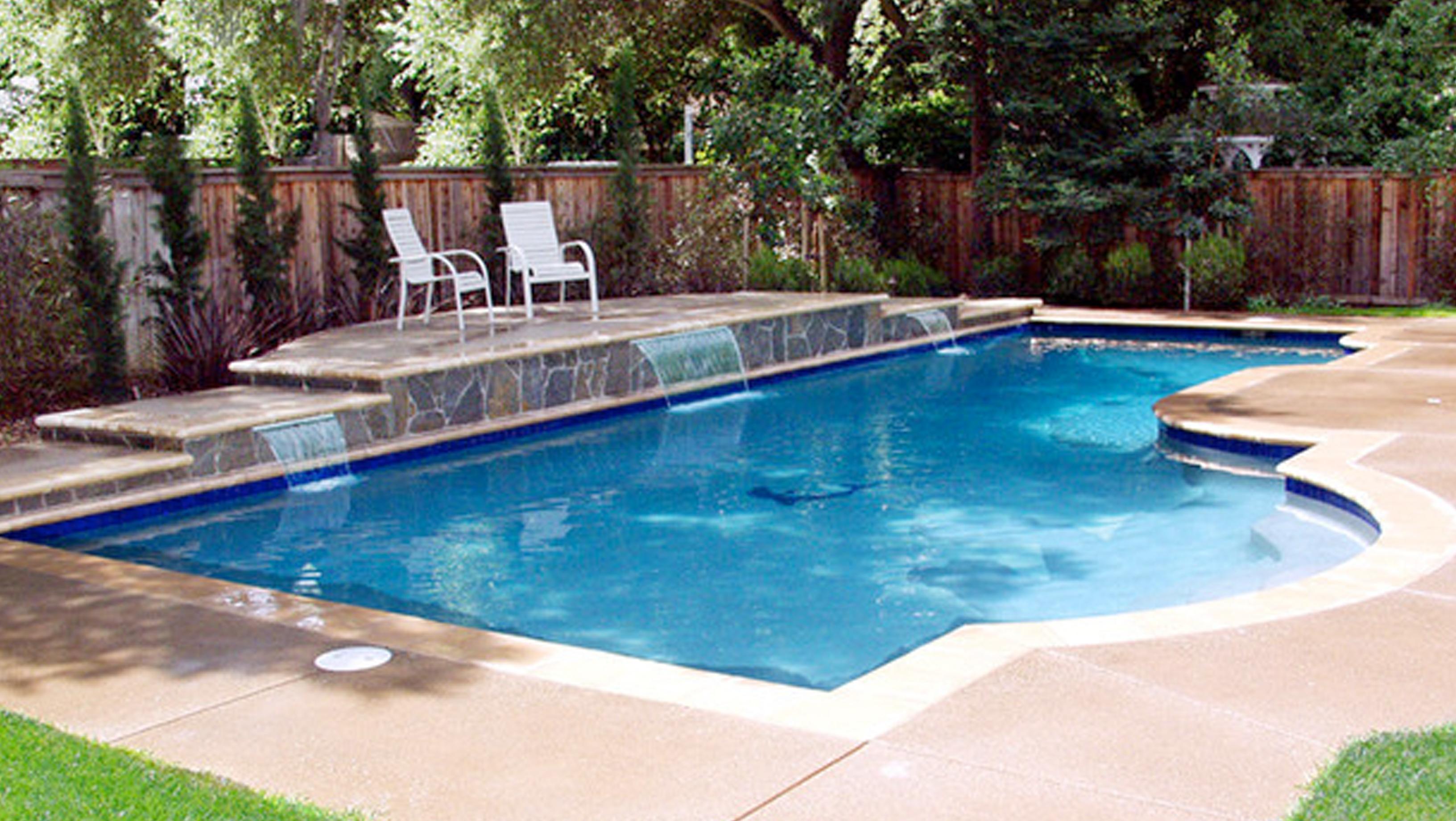 Inground pools fisher pools for Inground pools